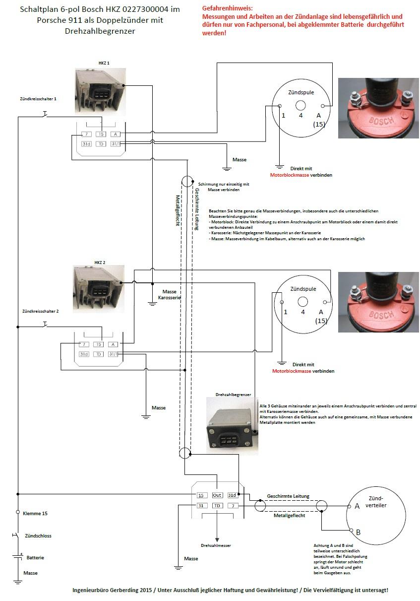 Reparatur Bosch HKZ für Porsche 911 und 914/6